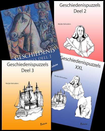 Proefpakket Geschiedenispuzzels