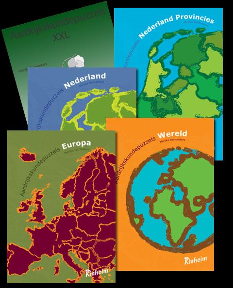 Proefpakket Aardrijkskundepuzzels
