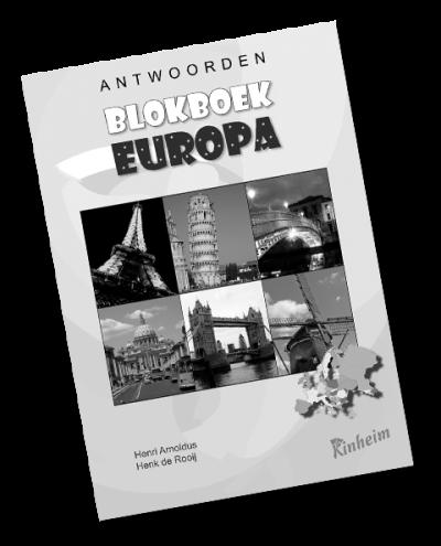 Blokboek Europa Antwoorden
