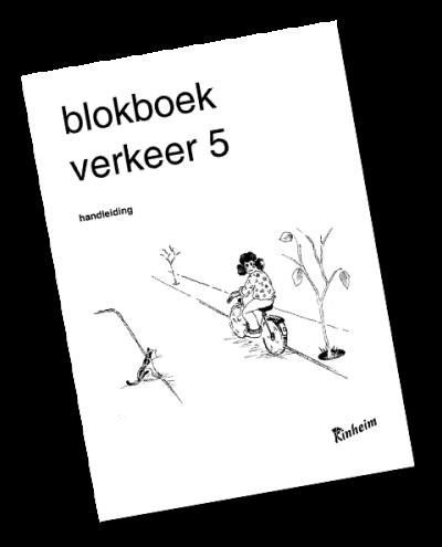 Blokboek Verkeer 5 Handleiding
