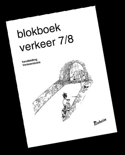 Blokboek Verkeer 7/8 Handleiding