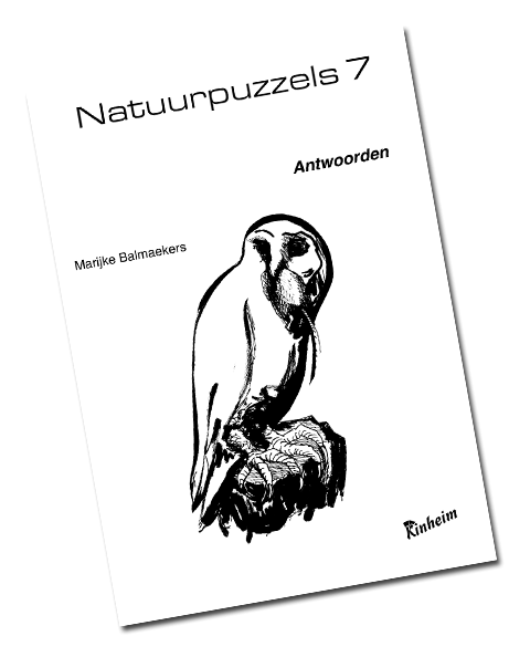 Natuurpuzzels 7 Antwoorden