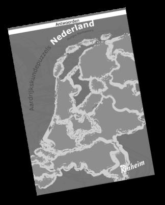 Aardrijkskundepuzzels Nederland Antwoorden
