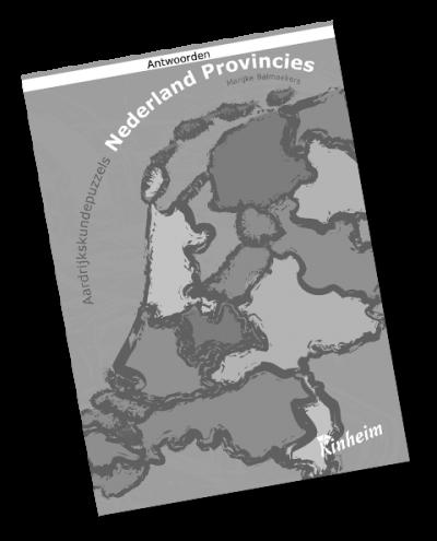 Aardrijkskundepuzzels Nederland Provincies Antwoorden