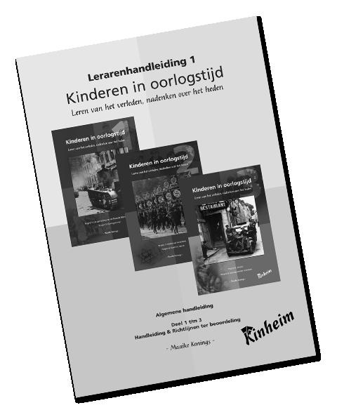 Kinderen in Oorlogstijd Handleiding Deel I