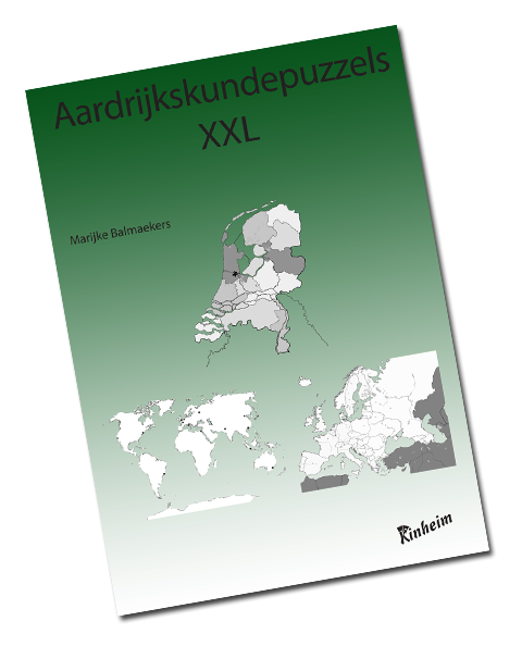 Aardrijkskundepuzzels XXL