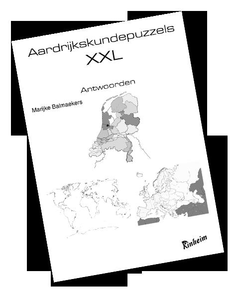 Aardrijkskundepuzzels XXL Antwoorden