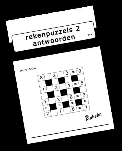 Rekenpuzzels 2 Antwoorden