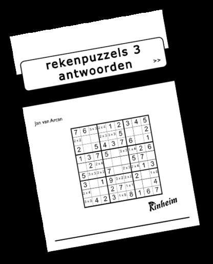 Rekenpuzzels 3 Antwoorden