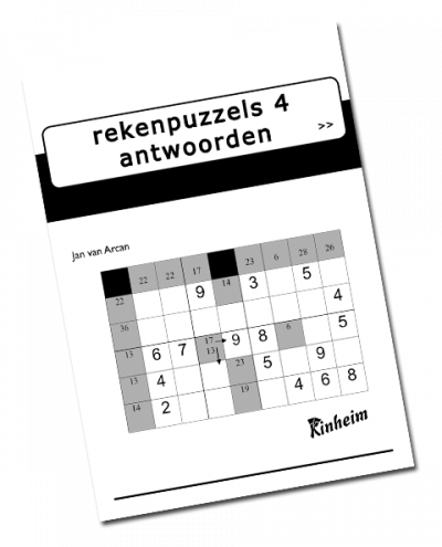Rekenpuzzels 4 Antwoorden