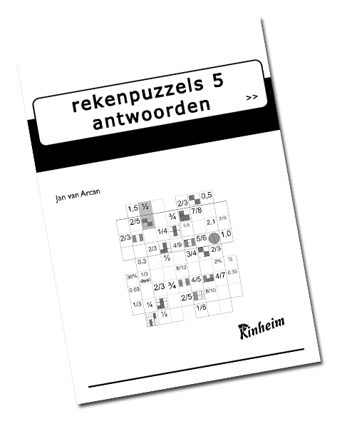 Rekenpuzzels 5 Antwoorden