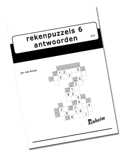 Rekenpuzzels 6 Antwoorden