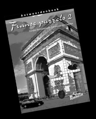 Franse Puzzels 2 Antwoorden