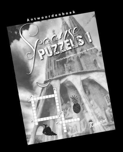 Spaanse Puzzels 1 Antwoorden