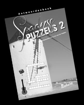 Spaanse Puzzels 2 Antwoorden