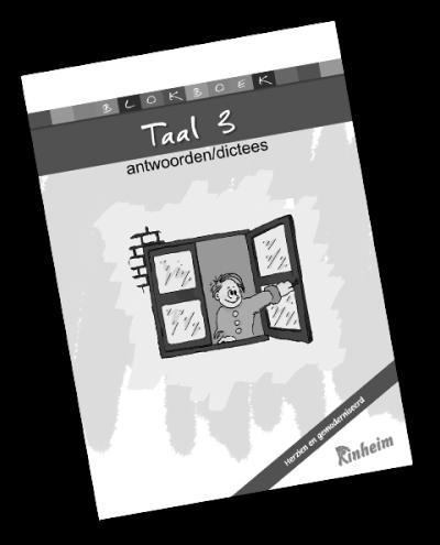 Blokboek Taal 3 (herzien) Antwoorden