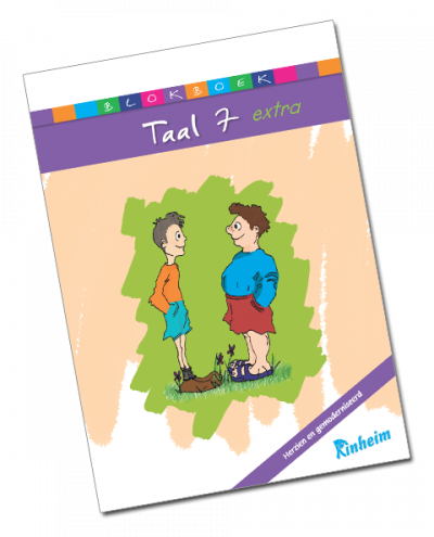 Blokboek Taal 7 extra (herzien)