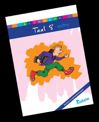 Blokboek Taal 8 Extra