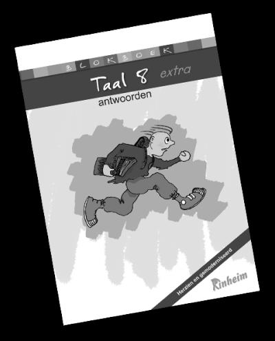 Blokboek Taal 8 (herzien) Antwoorden