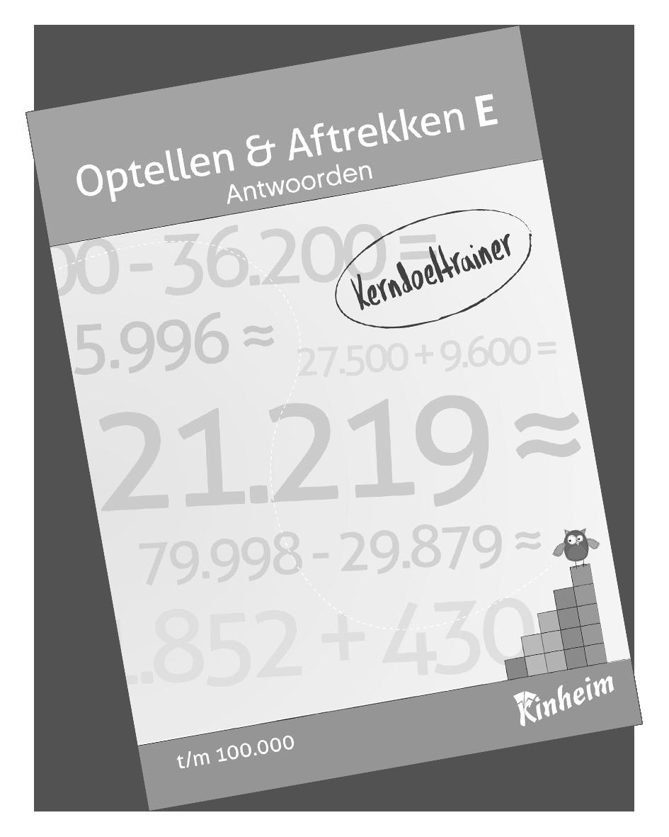 KerndoeltrainerOptellen&AftrekkenE_Antw