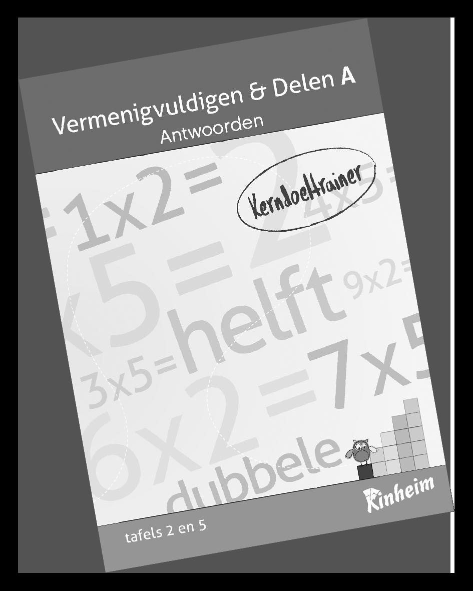 KerndoeltrainerVermenigvuldigen&Delen_A Antw