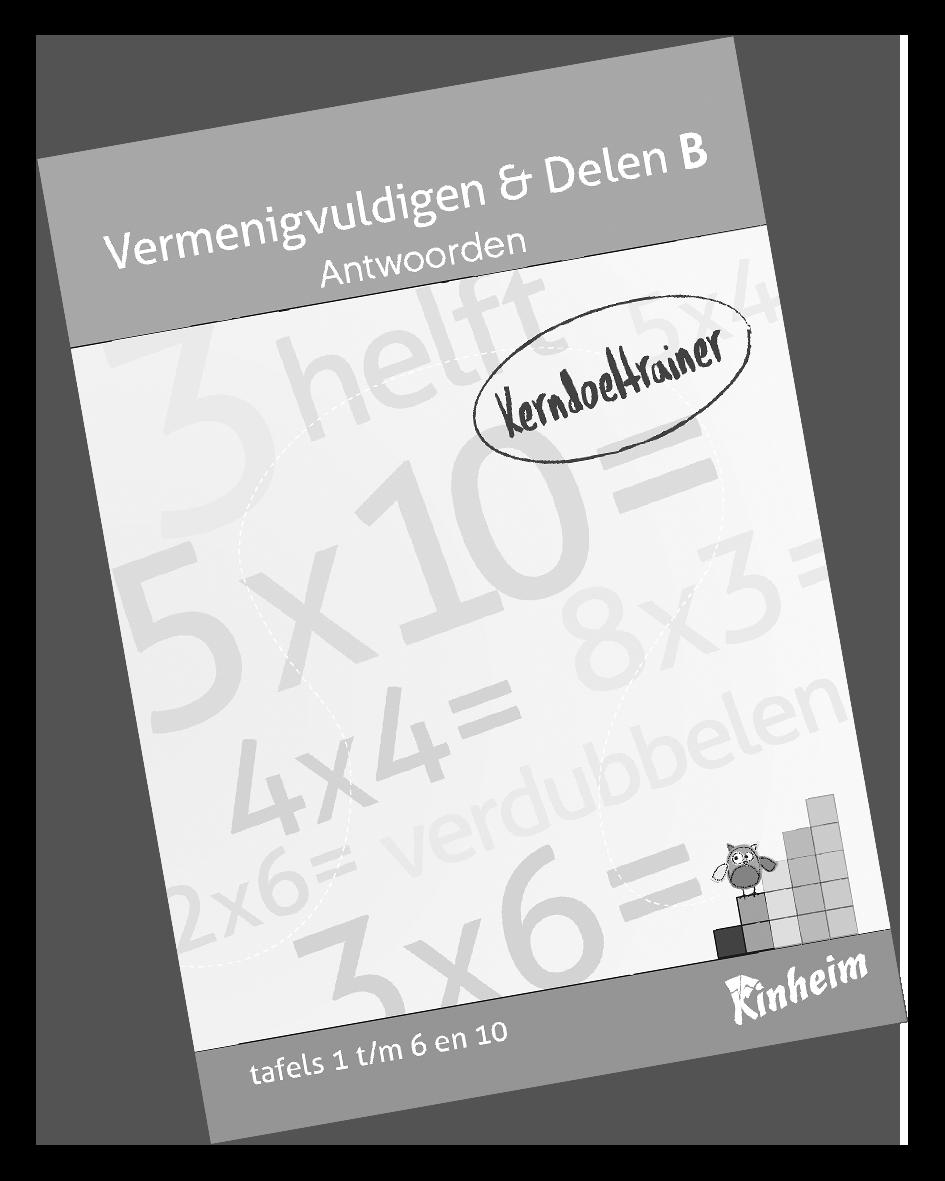 KerndoeltrainerVermenigvuldigen&Delen_B Antw