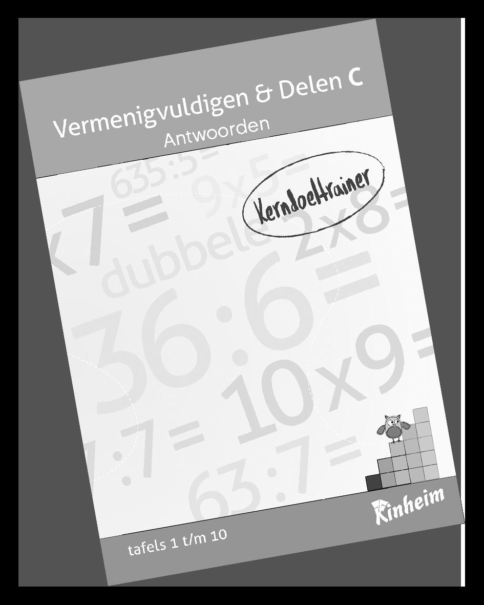 KerndoeltrainerVermenigvuldigen&Delen_C Antw