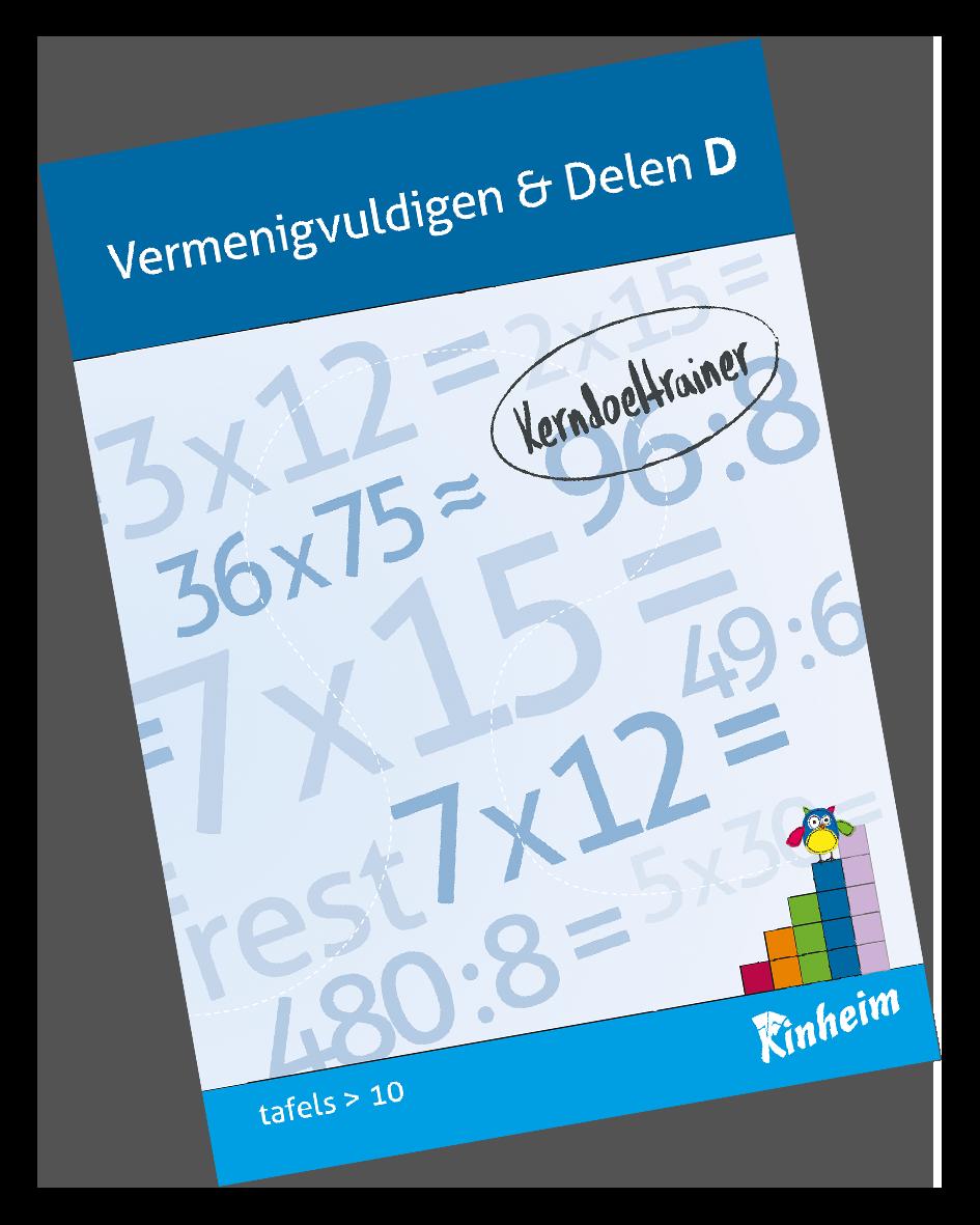 KerndoeltrainerVermenigvuldigen&Delen_D